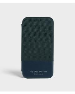 S.c Iphone X/xs Wallet Case Tech Navy