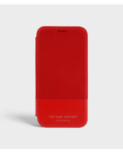 S.c Iphone X/xs Wallet Case Tech Red