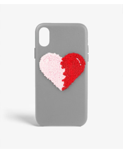 S.c Iphone Xr Woolly Heart Grey