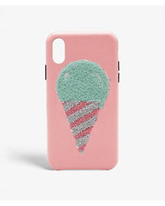 S.c Iphone Xr Woolly Icecream Rose