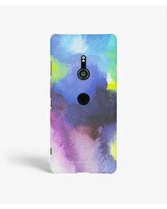 S.c Sony Xperia Xz3 Aquarello Purple