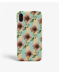 S.c Iphone X/xs Stripy Flower