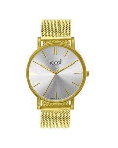 Regal Mesh Horloge Limited Edition Goudkleurig