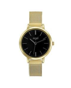 Regal Mesh Horloge Met Goudkleurige Band