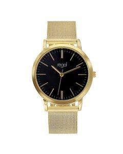 Regal Uhr mit goldenem Mesharmband