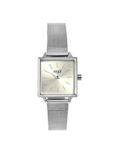 Regal Uhr mit Edelstahlgehäuse und -Armband.