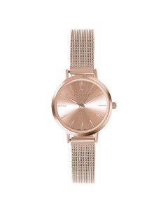 Endless Horloge Met Rose Mesh Band