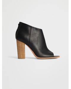 Open Toe Sandal boot  Black