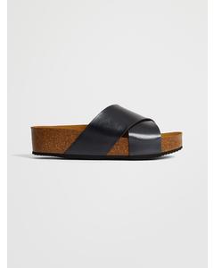 Sanabria Sandal Antracite Pearl