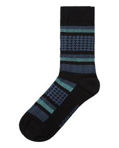 Sock Bb Checkstripe Single Pack