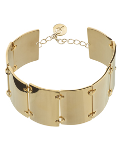 Ridge Armband Gold