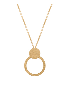 Valerie Necklace Sparkle Gold