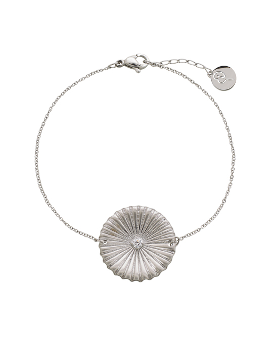 Edblad Crinkle Bracelet Matt Steel