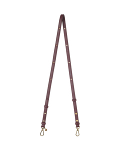 Debbie Strap Bordeaux/gold