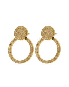Valerie Earrings Sparkle Gold