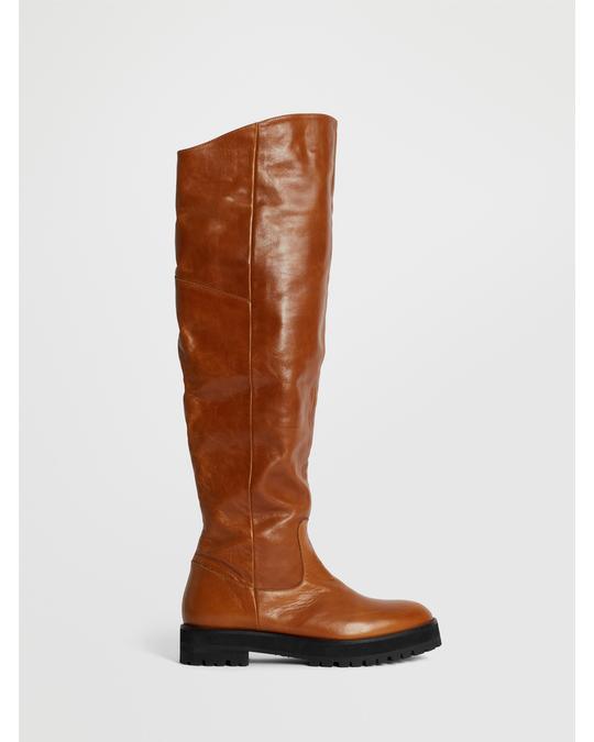 Reschia Over Knee Boot Cognac