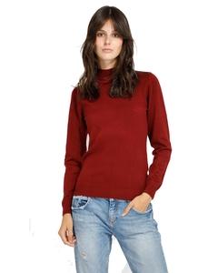 Turtleneck Sweater Burgundy