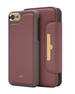 N303 Magnetic Case & Wallet Roseberry Rose  - Iphone 6/6s/7/8  Roseberry Rose