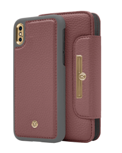 N303 Magnetic Case & Wallet Roseberry Rose  - Iphone X/xs  Roseberry Rose