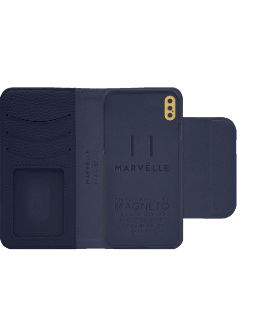 Marvêlle N303 Magnetic Case & Wallet Oxford Blue  - Iphone X/xs  Oxford Blue