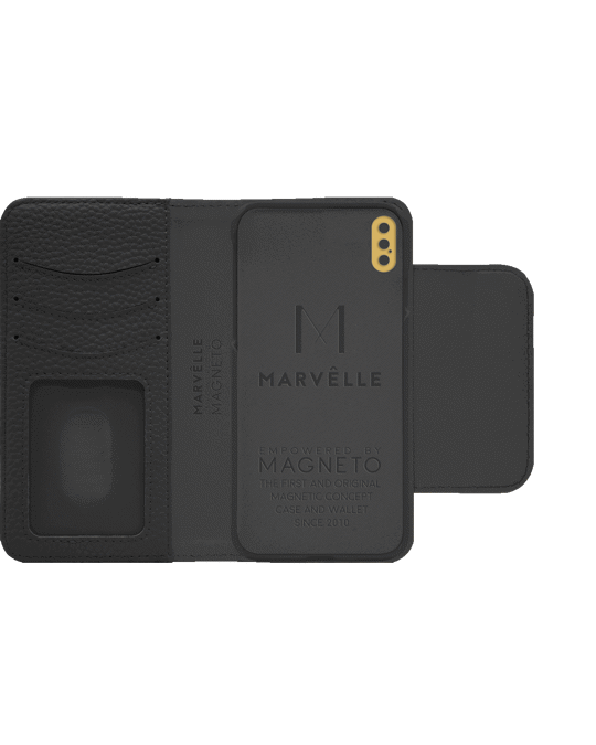 Marvêlle N303 Magnetic Case & Wallet Midnight Black  - Iphone X/xs  Midnight Black
