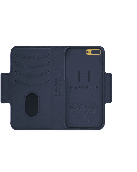 Marvêlle N305 Magnetic Case & Wallet Oxford Blue  - Iphone 7/8 Plus  Oxford Blue