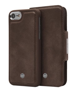 N305 Magnetic Case & Wallet Walnut Dark Brown  - Iphone 6/6s/7/8  Walnut Dark Brown