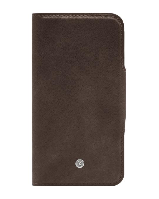 Marvêlle N305 Magnetic Case & Wallet Walnut Dark Brown  - Iphone 7/8 Plus  Walnut Dark Brown