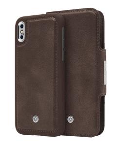 N305 Magnetic Case & Wallet Walnut Dark Brown  - Iphone X/xs  Walnut Dark Brown
