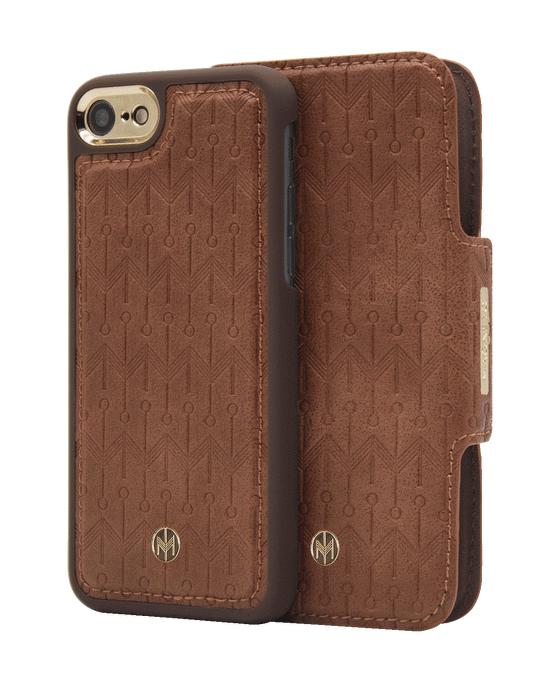 Marvêlle N305 Signature Magnetic Case & Wallet Oak Light Brown  - Iphone 6/6s/7/8  Oak Light Brown