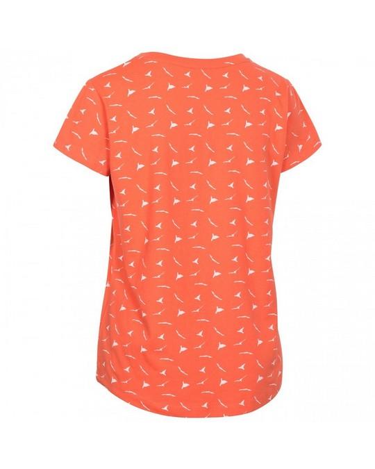 Trespass Trespass Damen T-Shirt Carolyn mit Muster, kurzärmlig