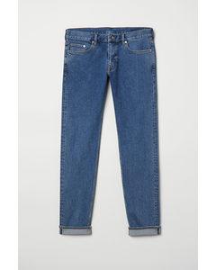 Slim Selvedge Jeans Blau
