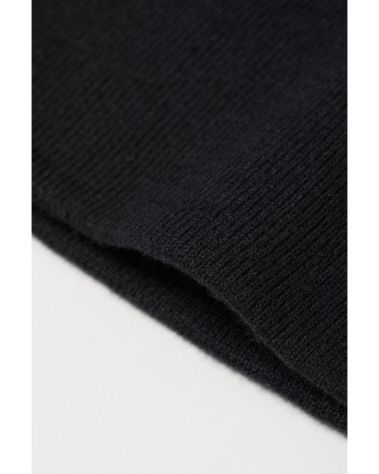 H&M Jersey hat Black