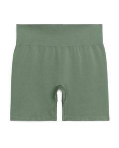 Seamless™ Yoga-Shorts Khaki