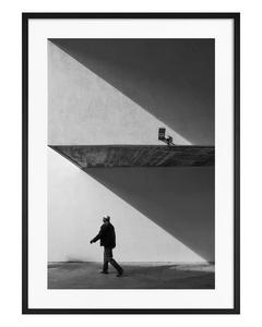 Poster Schattenformen