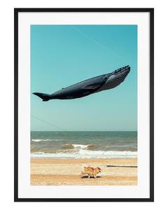 Poster Ballon am Strand