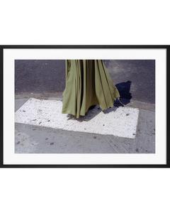 Poster Khaki Kleid