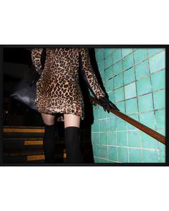 Poster Leopardkleid