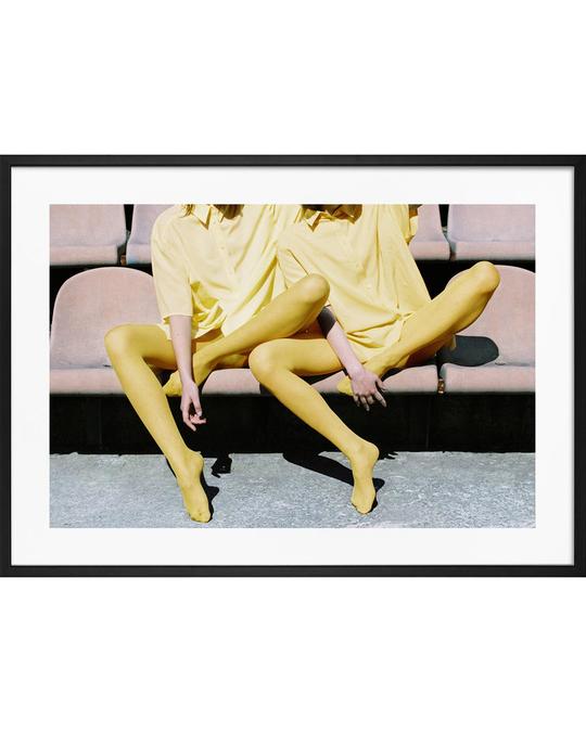 Democratic Gallery Poster Gelbe Mode Nr. 2