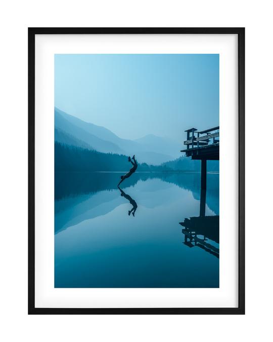Democratic Gallery Poster Blau Schwimmen