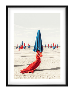 Poster Colorful Beach