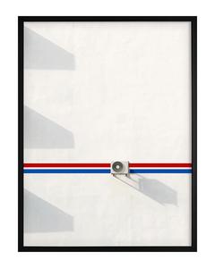 Poster Gestrichene Hauswand