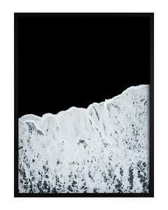 Poster Weiße Wellen