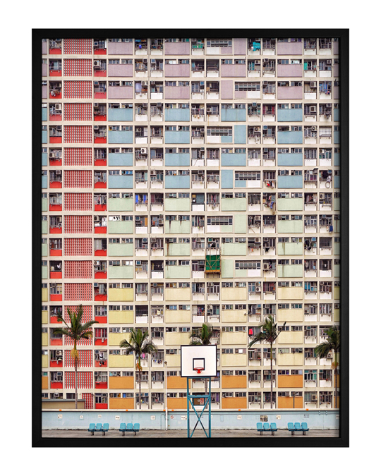 Democratic Gallery Poster Bunte Architektur
