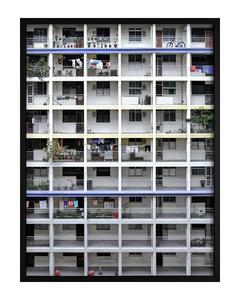 Poster Weiße Architektur