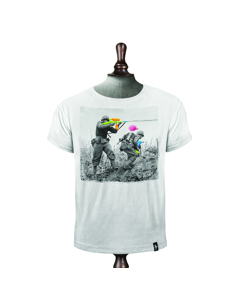 Water Fight Vintage White