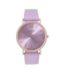 Regal Horloge Slimline Met Paarse Band