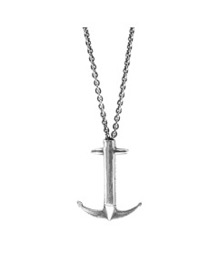 Anchor & Crew Admiral Anchor Signature Silver Necklace Pendant
