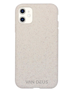 Eco Degradable Cream White Case Iphone 11