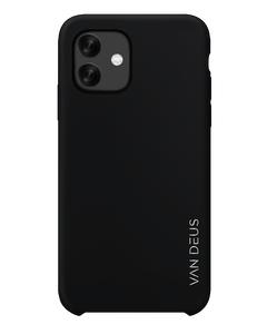 Liquid Silicone Case Black -  Iphone 11